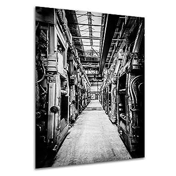 Industrialisierung   Wandbild Denkmal Maxhütte, Exklusiver Druck Auf  Leinwand, Alu Dibond Oder Acrylglas