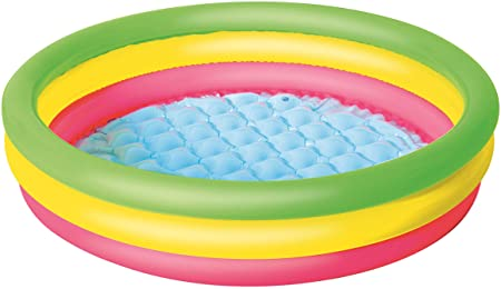 Bestway 51104 - Piscina Hinchable Infantil Summer Ø102x25 cm: Amazon.es: Jardín