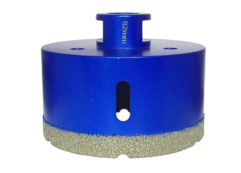 M/&R DiaTools M14 Diamant Fliesenbohrer Bohrkrone Diamantbohrer /Ø 6-82 Fliesenbohrkrone f/ür Winkelschleifer /Ø 27 mm