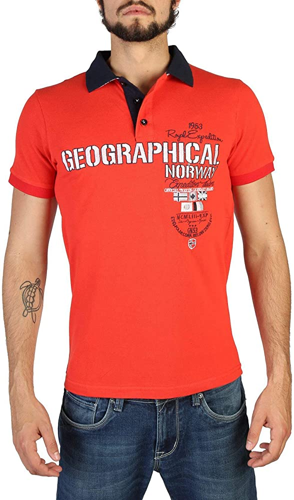 Geographical Norway Polo Kilitary_man Hombre Color Rojo talla: XXL ...