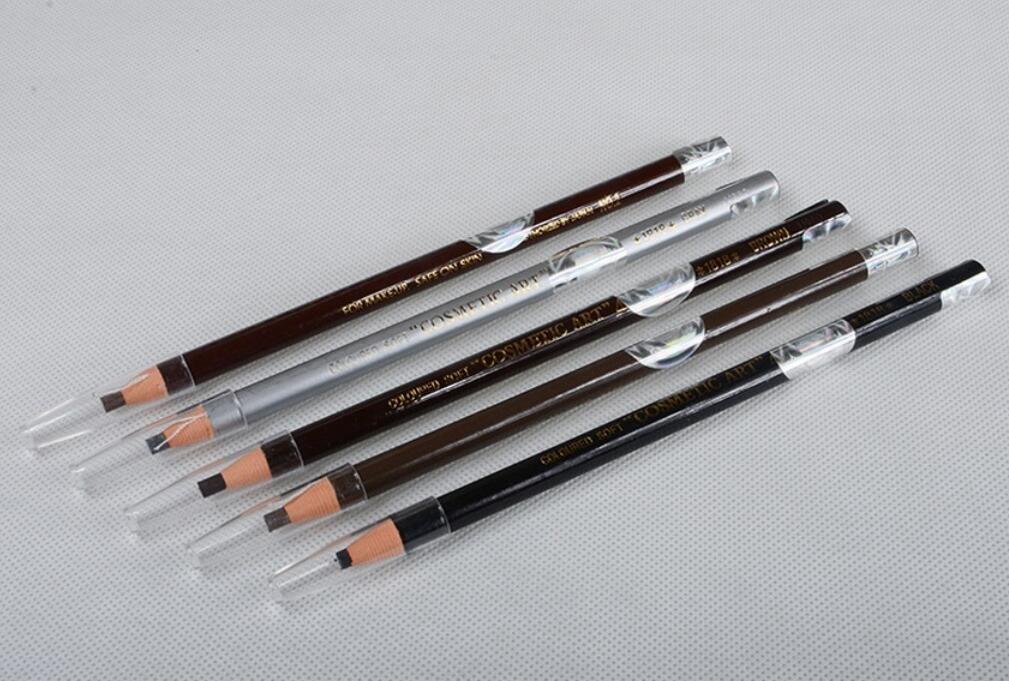 Primi étanche crayon à sourcils pour Microblading Peel Off Cordon de tirage (Noir) NTWNMJHGDU700