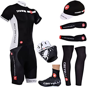 Castelli 2 Style Bike Wear Cycling Full Set Sportswear  Amazon.co.uk   Sports   Outdoors f9d0332ba