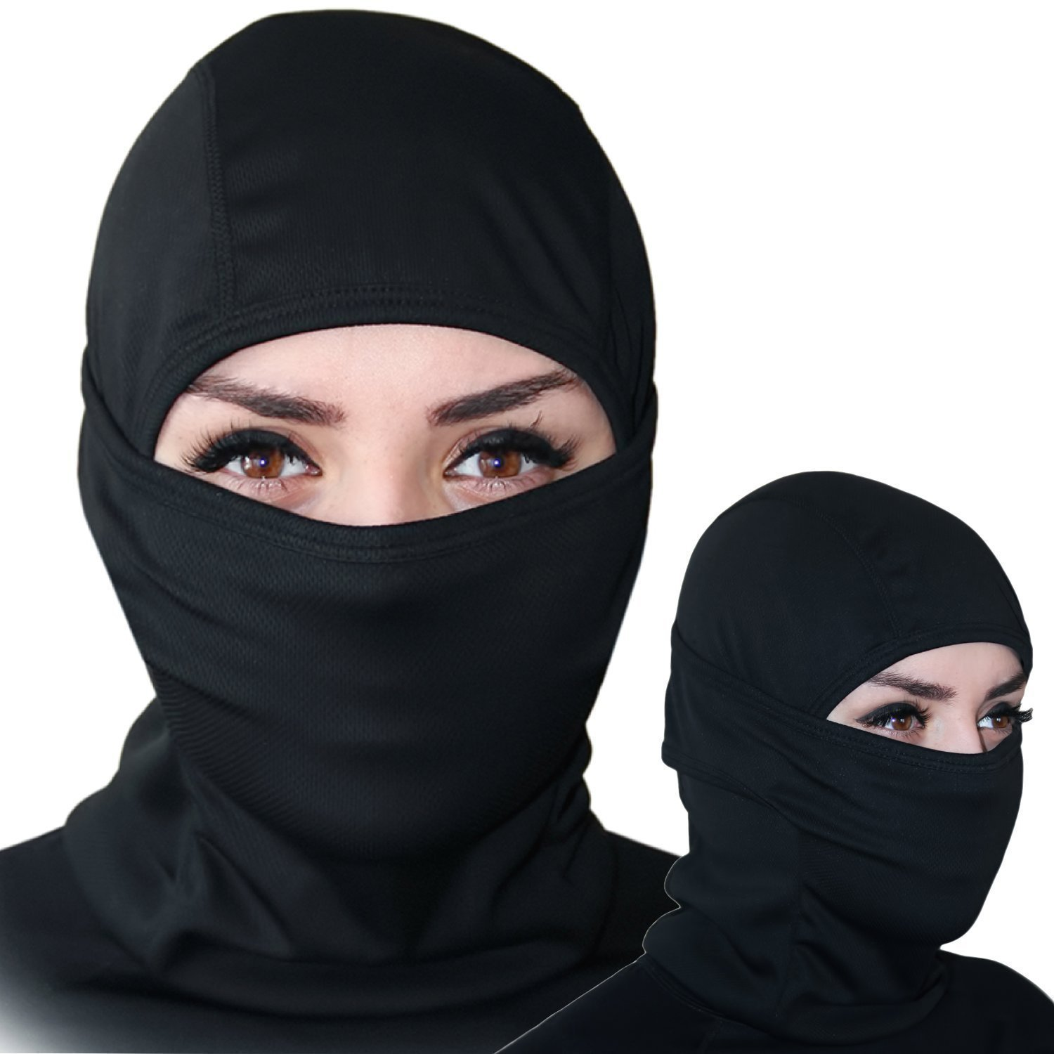 Self Pro Balaclava - Windproof Ski Mask - Cold Weather Face Mask Motorcycle Neck Warmer or Tactical Balaclava Hood - Ultimate Thermal Retention in Outdoors Hypo-allergenic Moisture Wicking by Self Pro