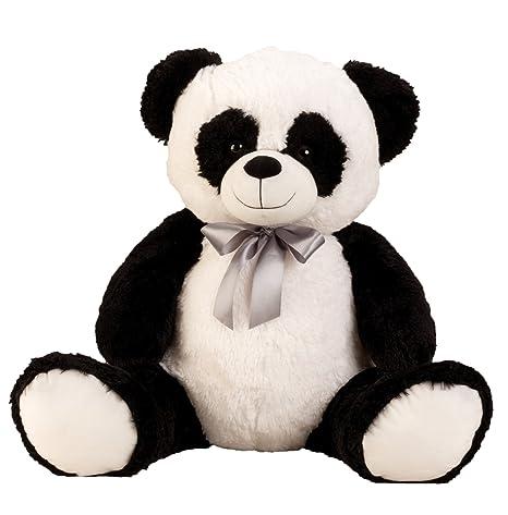 1e90c43b39 Lifestyle & More Big Panda Peluche Orso Grande Orso di Peluche con L'Arco  per