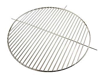 AKTIONA Acero inoxidable parrilla de 44,5 cm de diámetro para colgar + asas con