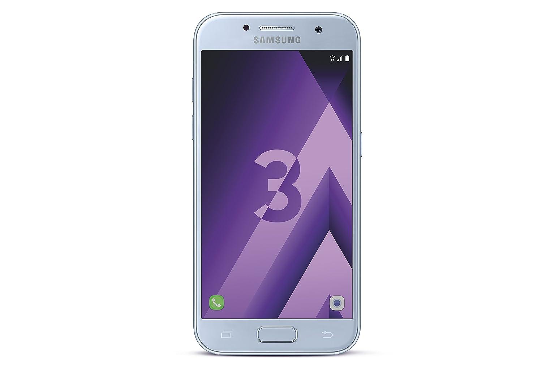 Samsung Galaxy A3 2017, Smartphone Libre (4.7, 2GB RAM, 16GB, 13MP/Versión Francesa: No Incluye Samsung Pay ni Acceso a promociones Samsung ...