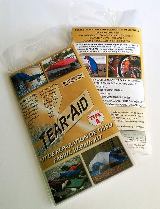 pneumatiques Auvents camping..., Tentes 6 x Tear-Aid Patch de réparation Kit