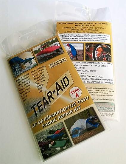 3bea74cf TEAR-AID Repair kit - Type A: Amazon.co.uk: Kitchen & Home