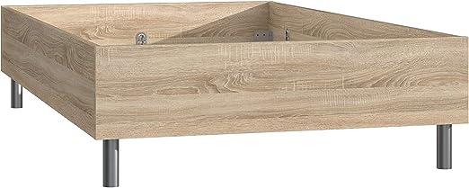 Wohnorama 120x200 Bettgestell Various Beds Von Forte Sonoma