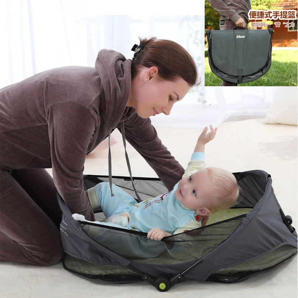 ETbotu Baby Bed Nest Sleep Bed Mattress Folding Travel Nest as Newborn Babynest Multifunctional