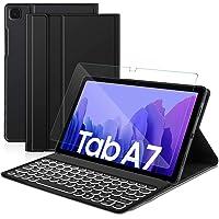 Sross Funda con Teclado para Samsung Galaxy Tab A7, Español Ñ Samsung Galaxy Tab A7 10.4 Pulgada 2020 SM-T500/T505…