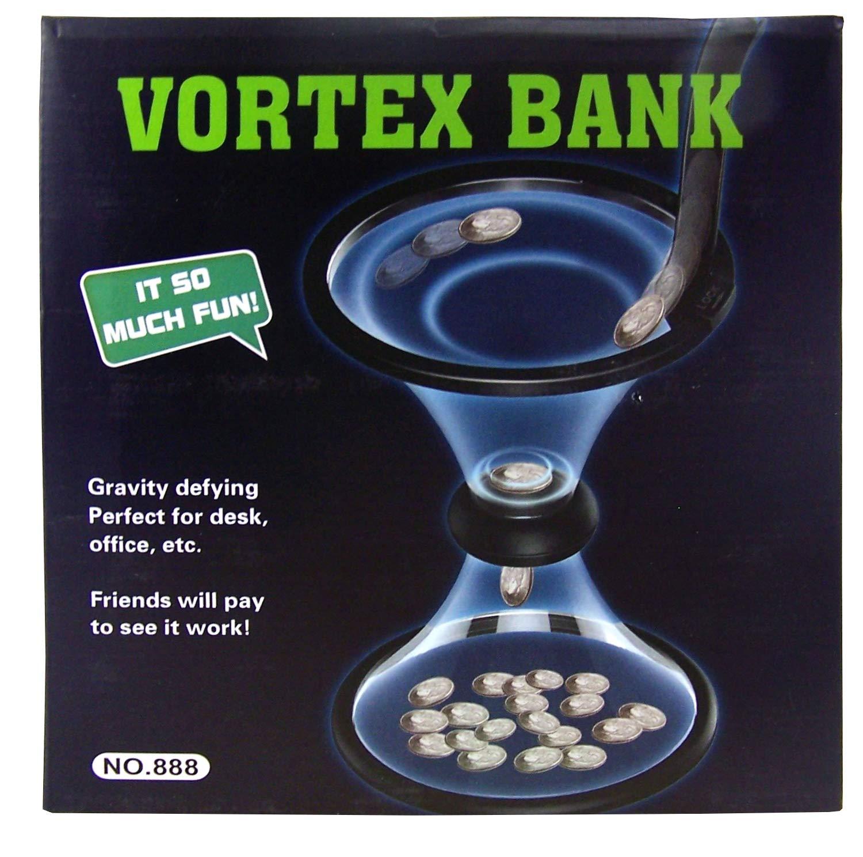 88 Merchandise Vortex Novelty Money Coin Piggy Bank, 10 3/4 Inch by 88 Merchandise