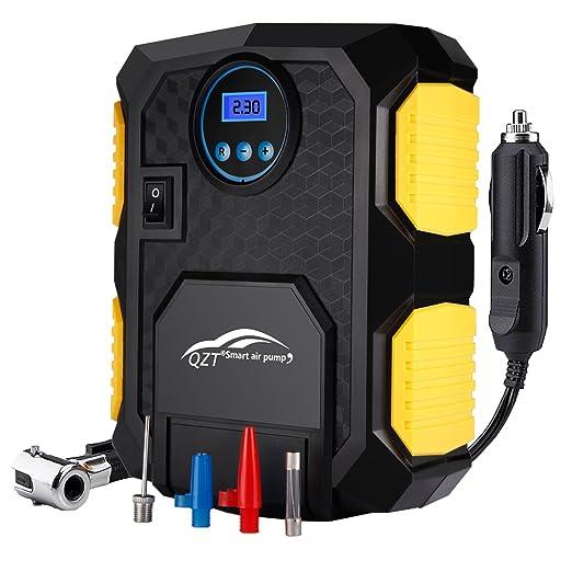 50 opinioni per Qzt 150 PSI digitale Gonfiatore 12 V compressore d' aria portatile con cavo di 3