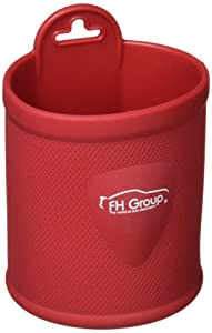 FH Group FH3021BURGUNDY Burgundy Silicone Dash/Vent Mounted Cup Holder (Smartphone Iphone, Galaxy Coin Grip)
