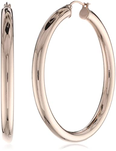 Amazon Stainless Steel 18 Karat Rose Gold Ion Plated Thick