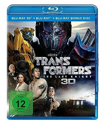Transformers 5 The Last Knight Blu Ray Bonus Disc Amazonde