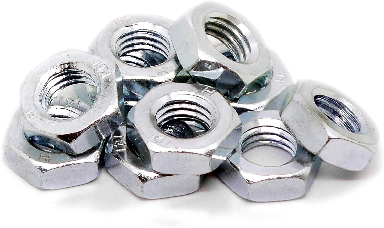 Lot de 50 /écrous en nylon plaqu/é zinc M10 type P