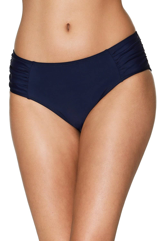 4152b22efc Amazon.com: ATTRACO Women's Bikini Bottoms High Cut Swim Bottom Ruched  Swimwear Briefs: Clothing