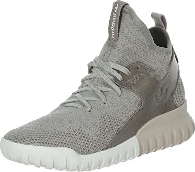 adidas tubular x knit grey