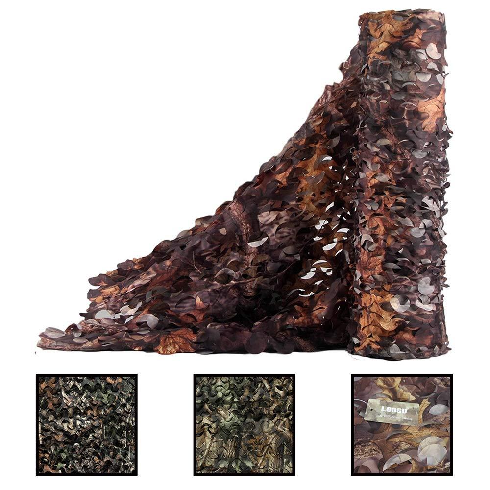 10X15m ZX- Filet de Camouflage, Filet D'ombrage Des Bois MultiCouleure Desert Camo Net , Pour Le Camping ,Chasse Tir,AveugleHommest Cacher Decor Décorations de Fête (taille   3X5m)