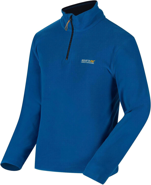 Regatta Mens Thompson Half-zip Fleece Jacket