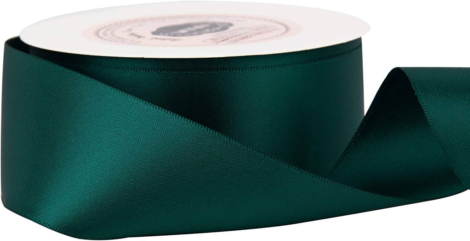 Gift Wrapping VATIN 1-1//2 Wide Double Faced Polyester Apple Green Satin Ribbon Continuous Ribbon- 25 Yard Perfect for Wedding Bow Making /& Other Projects
