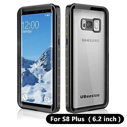 Amazon.com: UBeesize funda impermeable para Samsung S8 Plus ...