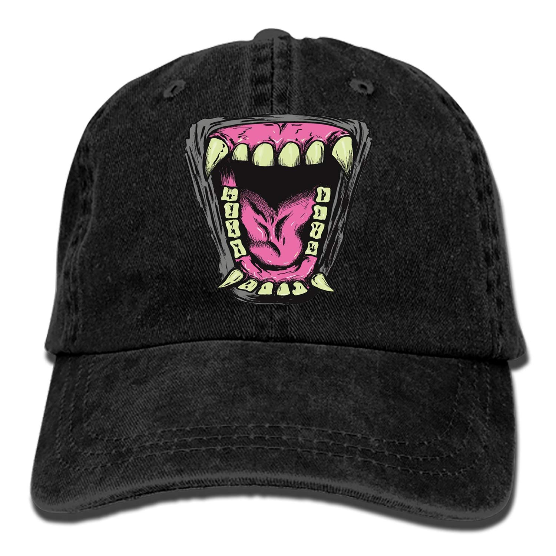 Dad Trucker Snapback Hat Custom Beast Classic Cotton Adjustable Baseball Cap