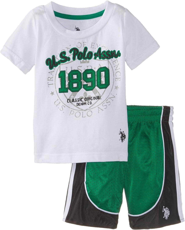 Polo Assn Tank and Mesh Short Set Boys T-Shirt U.S
