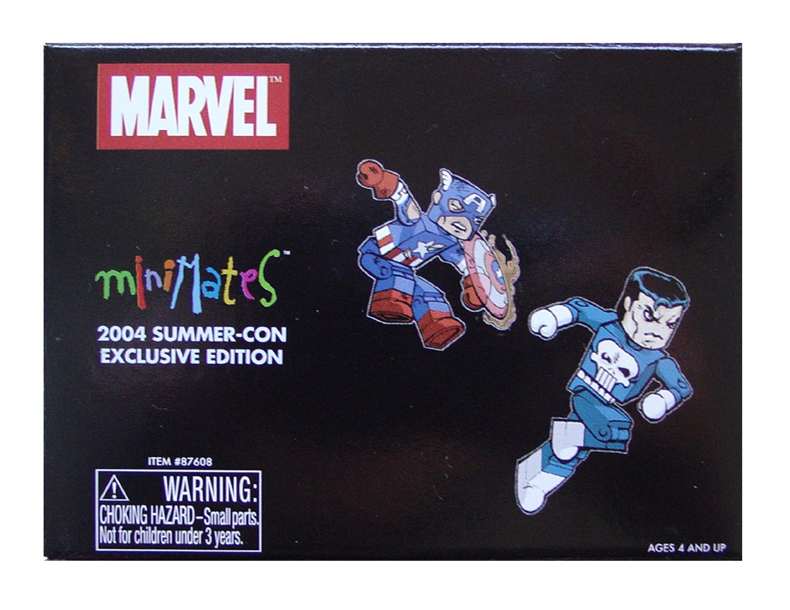 Marvel Mini Mates 2004 Summer-Con Exclusive Edition Art Asylum//Diamond Select Toys