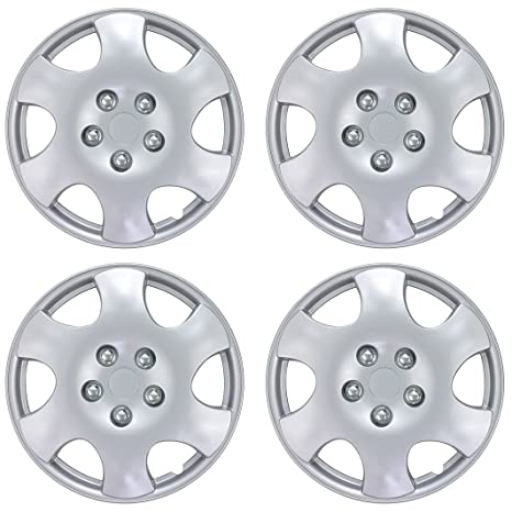 Amazon.com: BDK Toyota Corolla Style Hubcaps Wheel Cover, 15