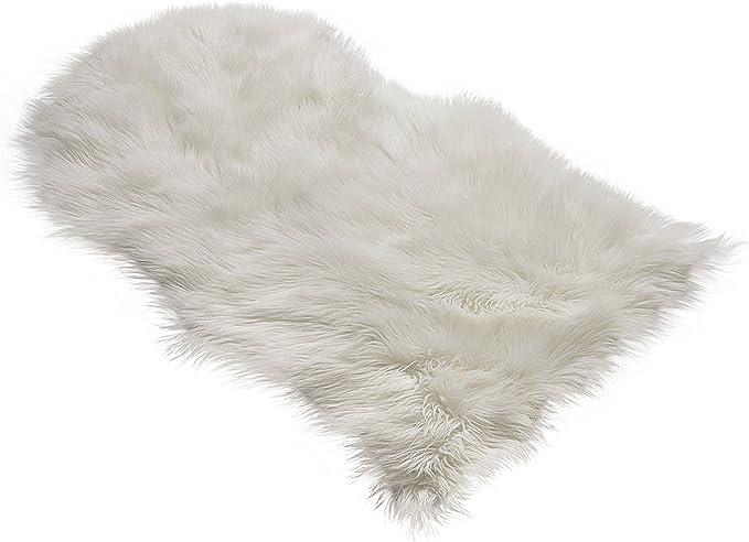Amazon.com: RUGLUSH TM - Tapete de piel de oveja ...