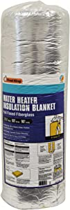"Frost King SP60 All Season Water Heater Insulation Blanket, 3"" Thick x 60"" x 90"", R10"