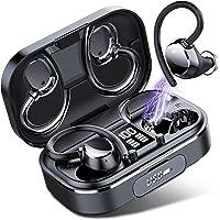 Coioc Bezprzewodowe słuchawki, Bluetooth 5.1 bezprzewodowe słuchawki douszne Bluetooth CVC8.0 bas słuchawki z redukcją…