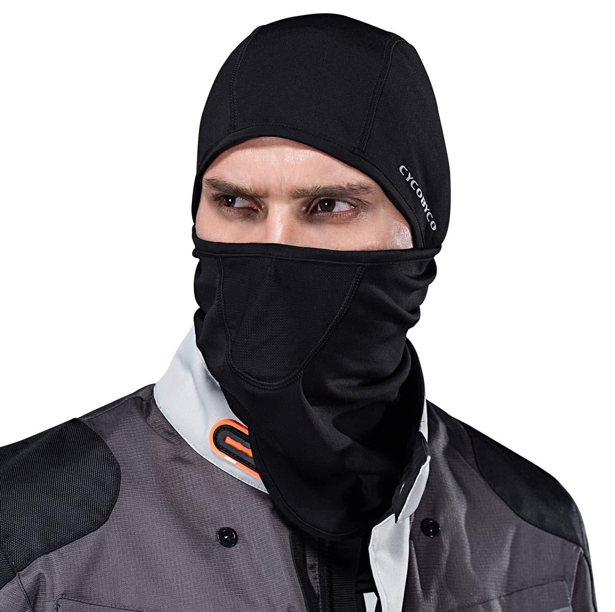 CYCOBYCO Balaclava Sciare A Prova di Vento Maschera Viso Inverno più Caldo Cappuccio Cappello Termico in Pile (Grey)
