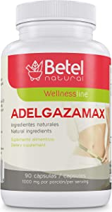 Adelgazamax Capsules by Betel Natural - Weight Loss Supplement with Apple Cider Vinegar & Garcinia Cambogia - 90 Count