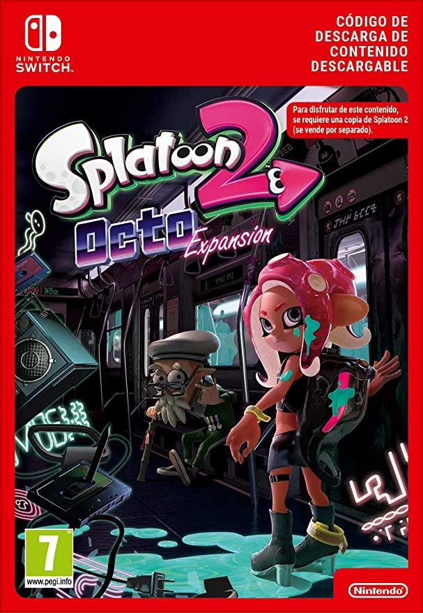 Splatoon 2: Octo Expansion [Switch - Download Code]: Amazon.es ...