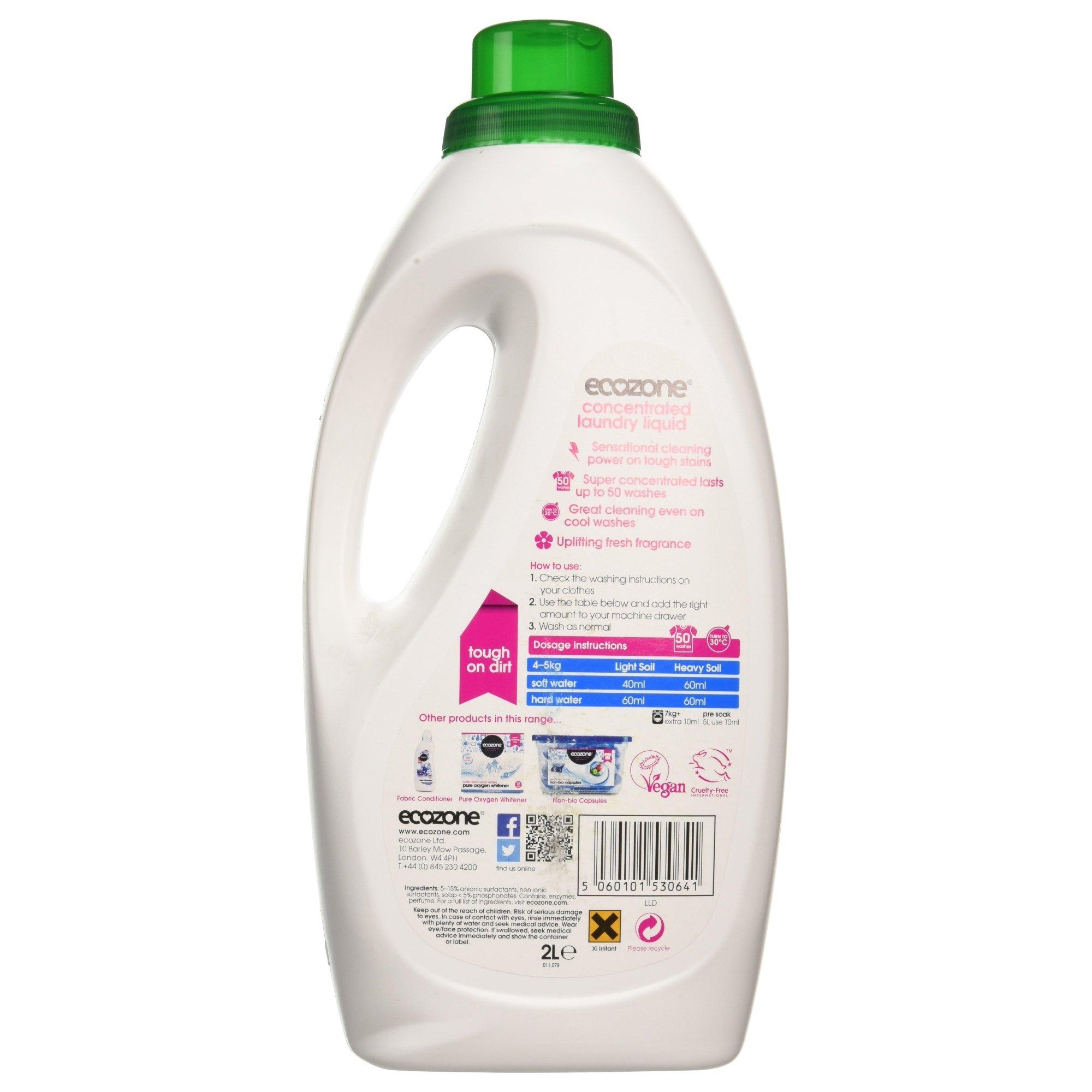 Ecozone - Concentrated Laundry Liquid - 2L