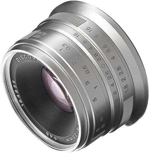 Hersmay 25mm F 1 8 Manueller Fokus Prime Fixed Lens Kamera