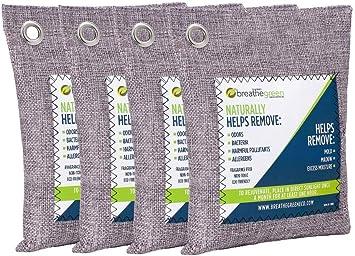 Amazon.com: Breathe bolsa purificadora de aire de carbón ...