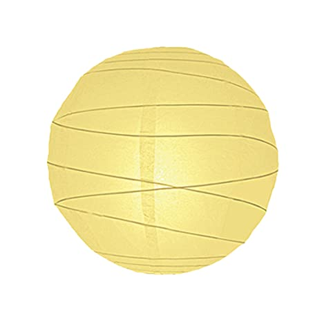 6814-AP 35 cm lámparas esféricas de papel pantalla para ...
