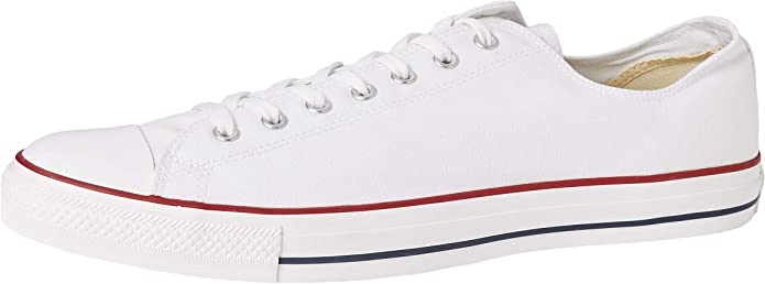 Converse Chucks (Chuck Taylor) All Star Ox Low Tops Unisex Damen Herren Weiß