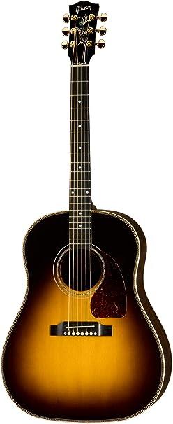 Gibson J-45 Custom Acoustic-Electric Guitar, Vintage Sunburst