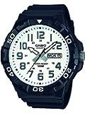 Casio Collection – Reloj Hombre Analógico con Correa de Resina – MRW-210H