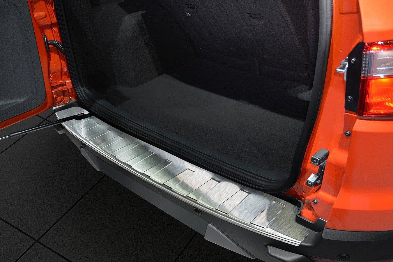 Ladekantenschutz Fahrzeugspezifische Passform Stoßstangenschutz Aus V2a Edelstahl Auto