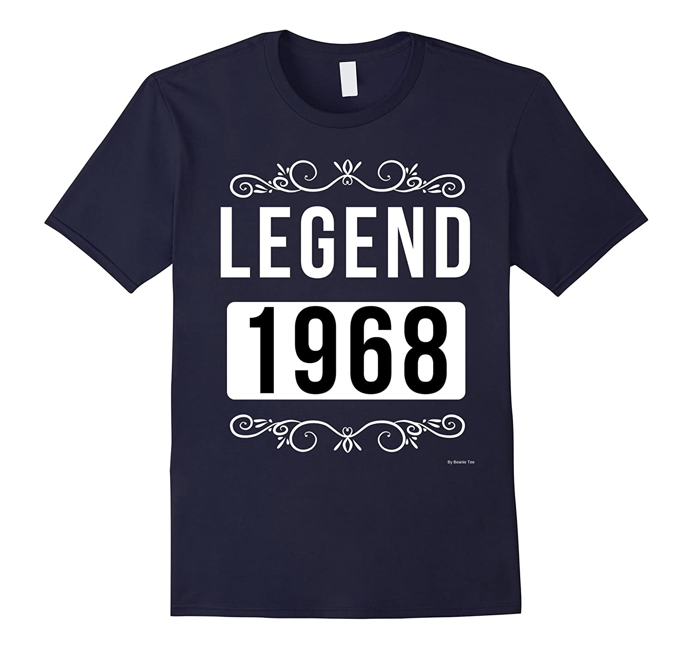 1968 Birthday Shirt Legend Since 1968 Born In 1968 Tee-CD