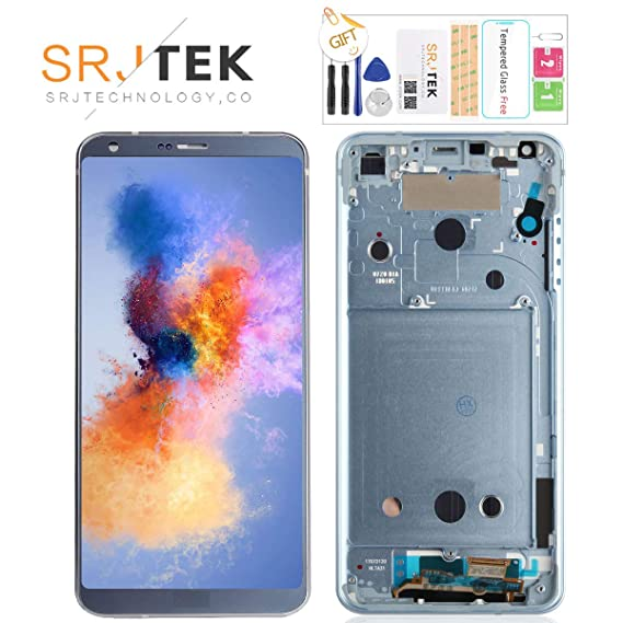 for LG G6 Screen Replacement-H870 H871 H872 LS993 VS998 US997 LCD Display  Touch Screen Digitizer Repair Parts with Frame,Tempered Glass & Tools