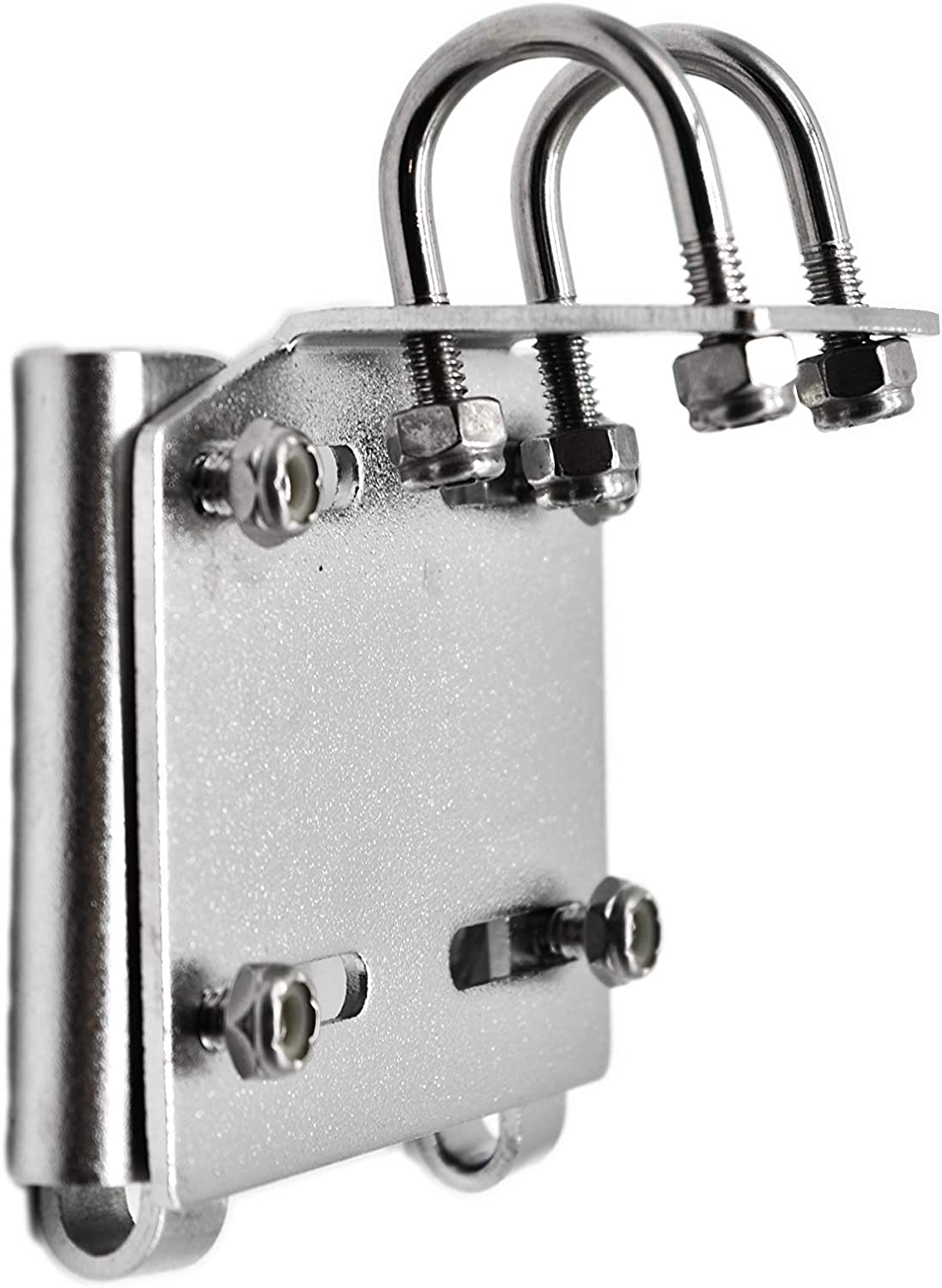 MARINE CITY Horizontal Stanchion Rail Mount Anchor Bracket for 1 Inches to 1-1//4 Inches Rails