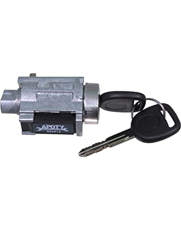 APDTY 035813 Ignition Lock Cylinder Assembly Includes New Keys And Passlock Chip (Fixes Security Light
