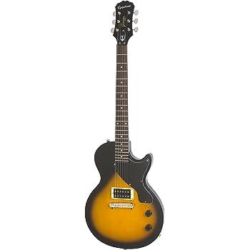 epiphone lp junior solid body electric guitar vintage sunburst musical instruments. Black Bedroom Furniture Sets. Home Design Ideas